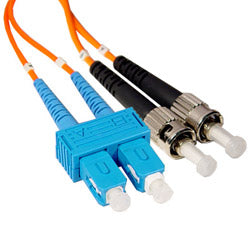 SC To ST 1-2-5 Meter Multi-Mode Duplex Cable