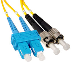 SC To ST 1-2-5 Meter Single-Mode Duplex Cable