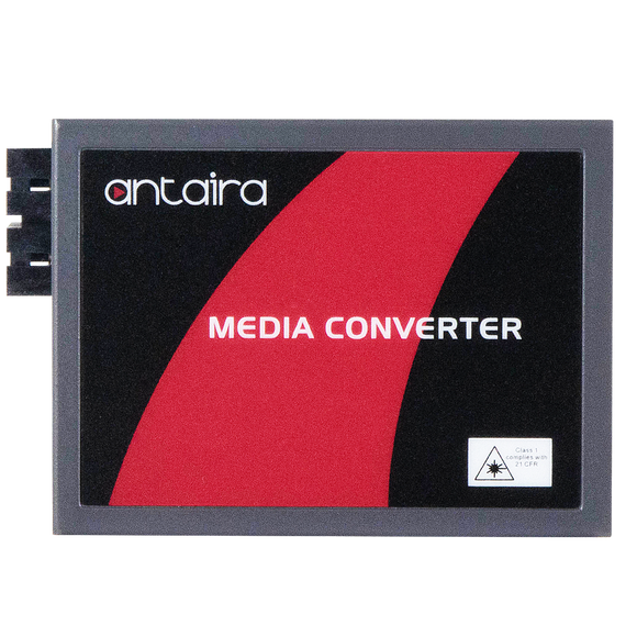 10/100TX To 100FX Media Converter, Single-Mode 30KM, SC Connector, Version 2 Hardware