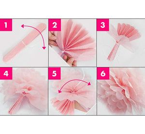 Pink Baby Shower Decorations for Girl;