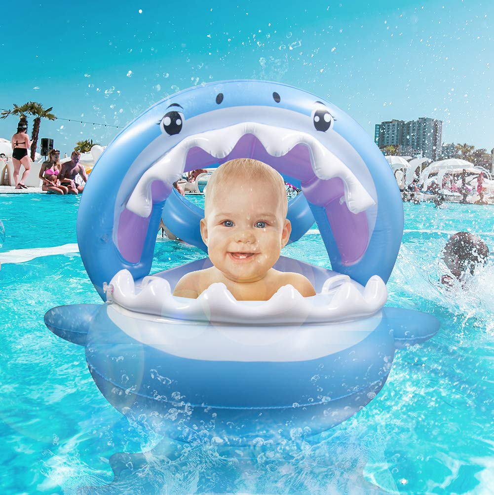 Baby Pool Float Swimming Shark for Infant,Toddler & Kid