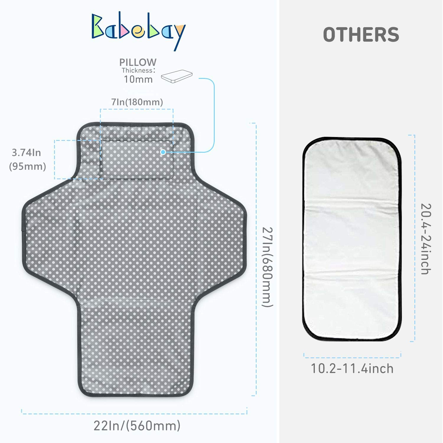 Portable Baby Changing Waterproof Pad