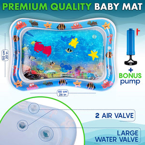 Inflatable Tummy Time Premium Water Mat