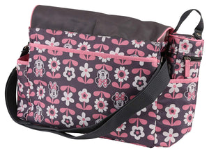 Disney Minnie Mouse Multi Piece Diaper Bag with Flap