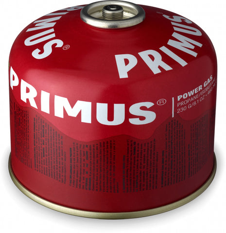 how much canister fuel do I need - Primus power gas