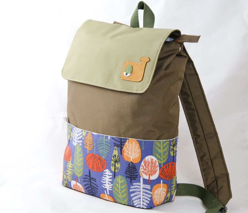 "Rucsac laptop ""Colorful orchard"""