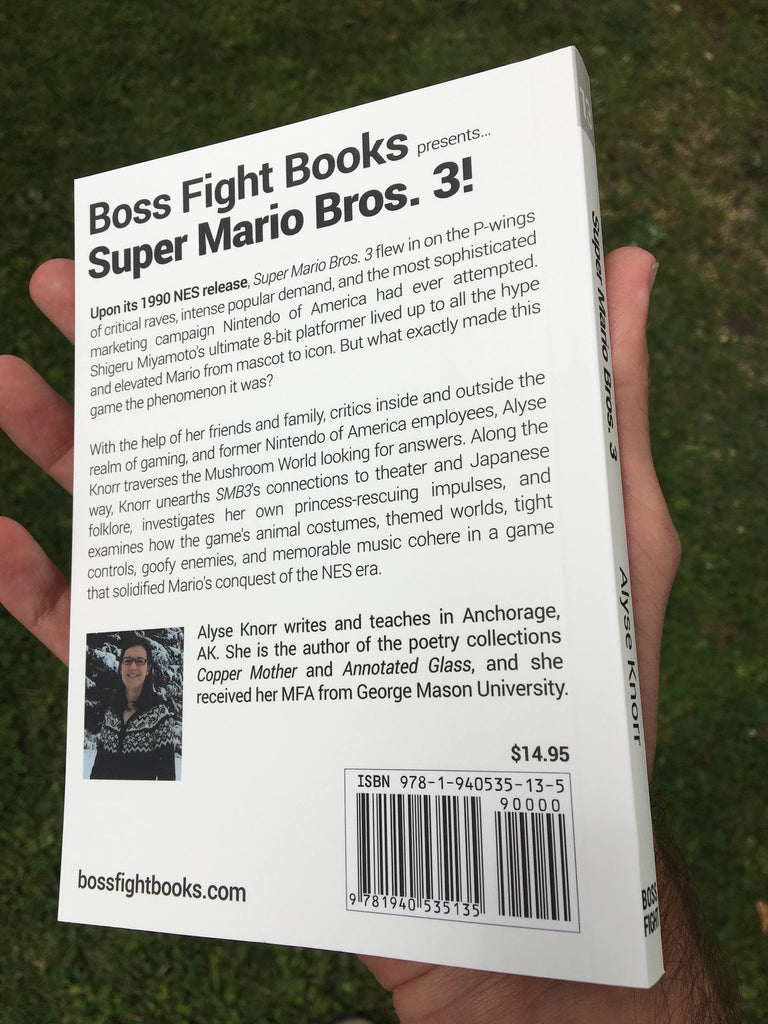 Super Mario Bros  3 by Alyse Knorr – Boss Fight Books