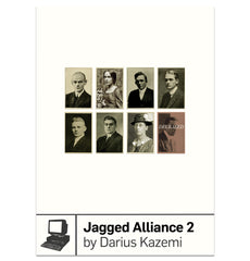 Jagged Alliance 2 by Darius Kazemi from Boss Fight Books