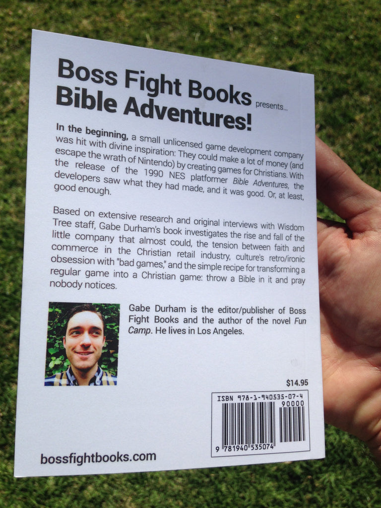 Bible Adventures by Gabe Durham – Boss Fight Books