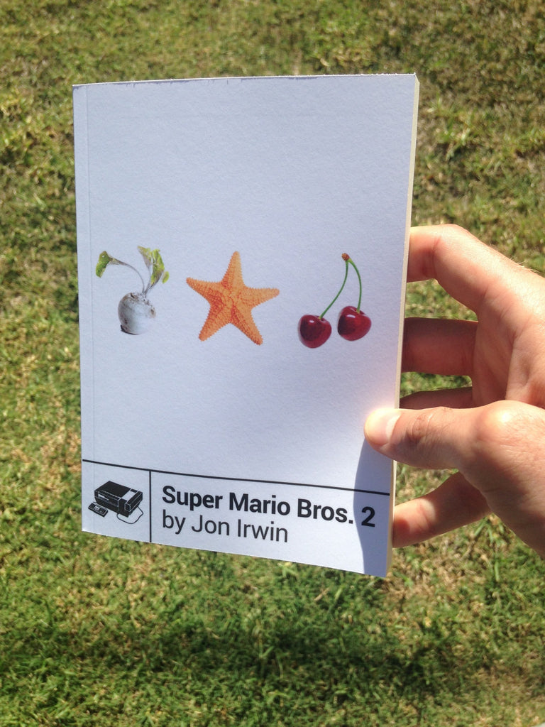 Super Mario Bros  2 by Jon Irwin - New Book on the NES Classic Game