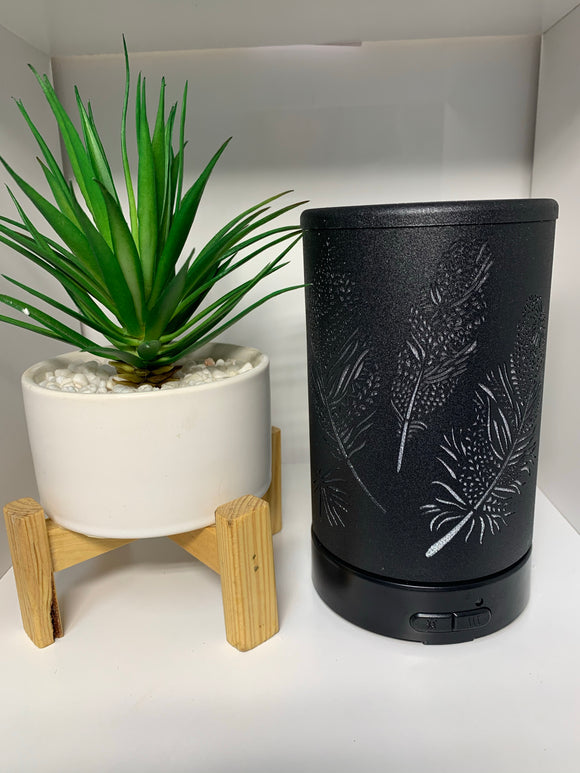 Ultrasonic Diffuser - Black Feather