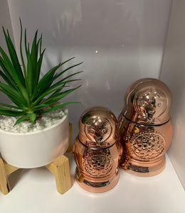 Babushka  Dolls- Rose Gold ( Set of 2 )