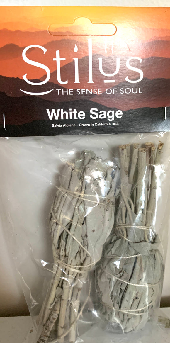 White Sage Twin Pack 10cm