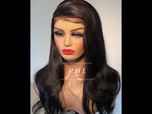 "Load and play video in Gallery viewer, Dior In 13"" x 6"" Lace Frontal Wig 
