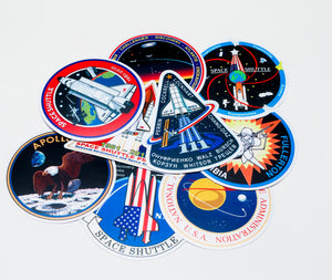 SPACE STICKERS, NASA, SHUTTLE