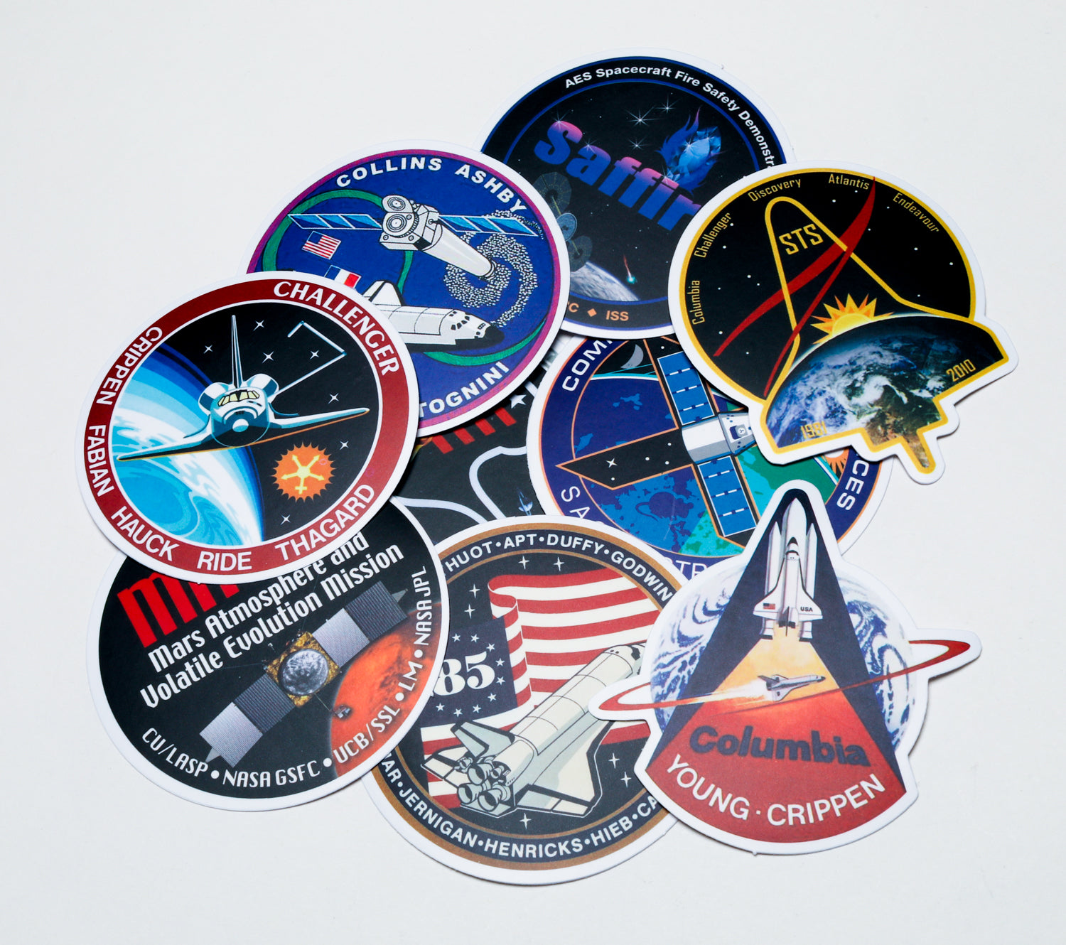 ASB - Space Mission Sticker Pack #4