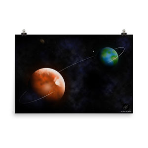 ASB - From Earth to Mars Poster