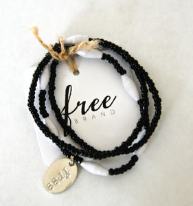 White and Black Esther Bracelet