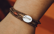 Load image into Gallery viewer, Light Brown Esther Bracelet