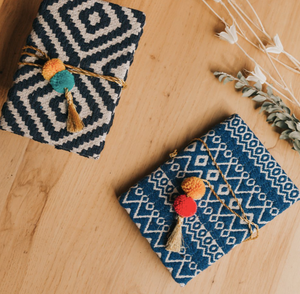 Loomed Journal- Blue