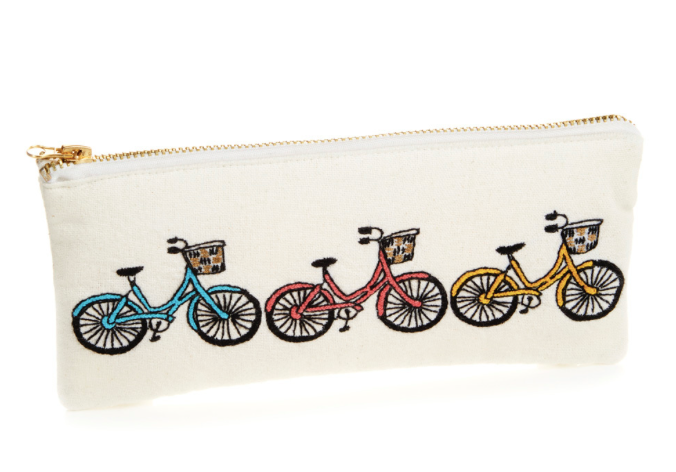 Small Bicycle Zipper Pouch