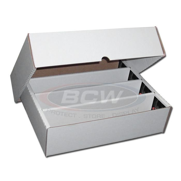 Deck Box: BCW - Storage Box 3200 Count Full Lid