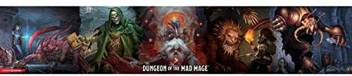 D&D DM Screen Waterdeep Dungeon of the Mad Mage