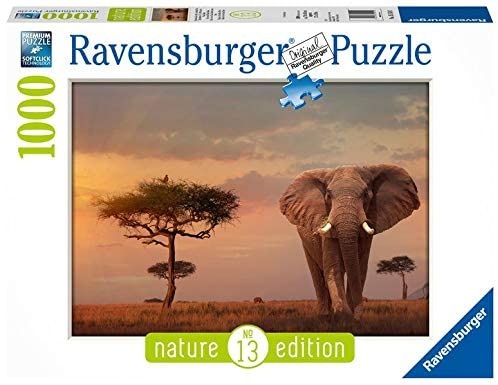 Puzzle: (1000 pc) Elephant of the Massai Mara