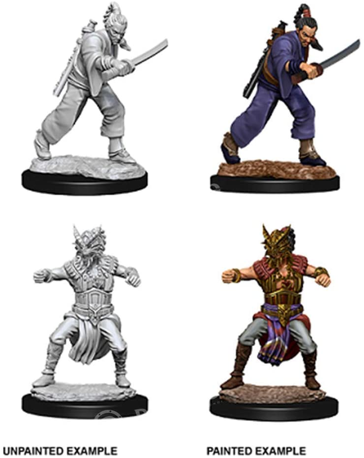 D&D Nolzur's Marvelous Unpainted Miniatures: Male Human Monk - 2019 Version