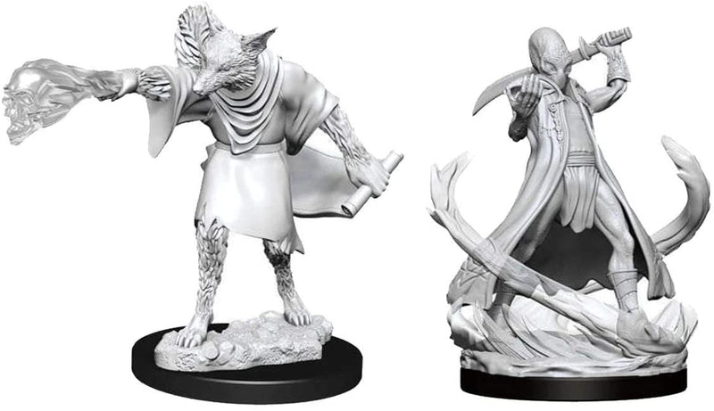 D&D Nolzur's Marvelous Unpainted Miniatures: Arcanaloth & Ultroloth