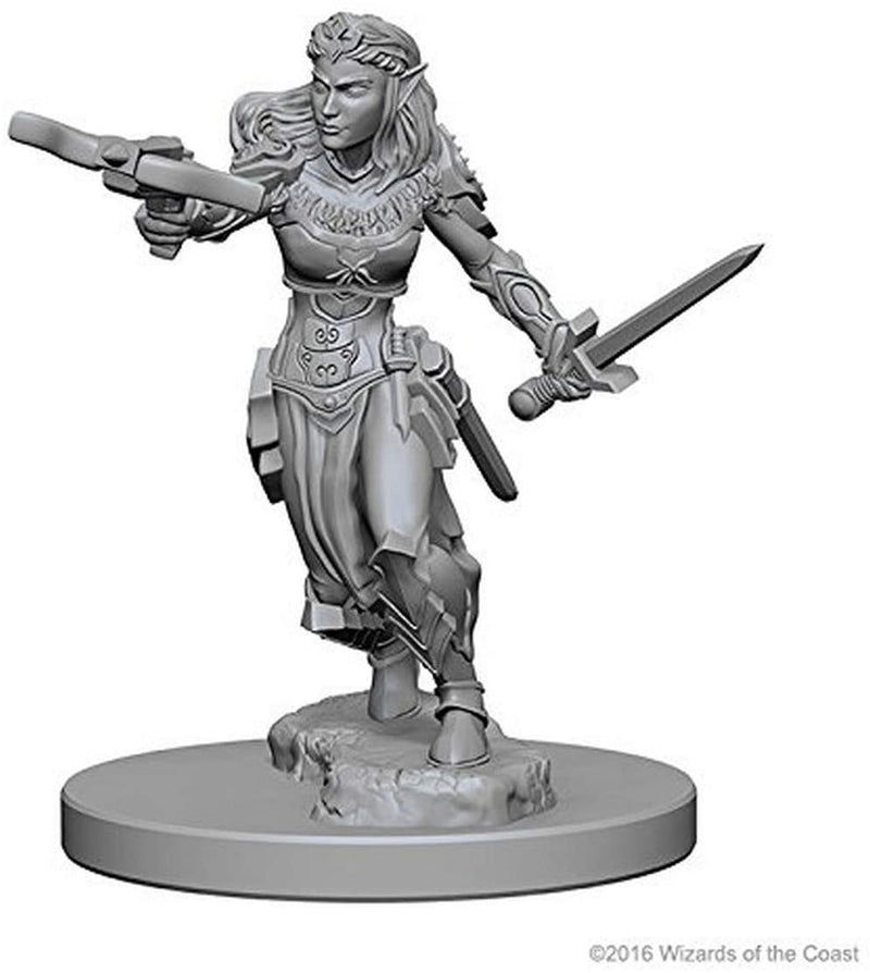 D&D Nolzur's Marvelous Unpainted Miniatures: Female Elf Ranger - 2017 Version