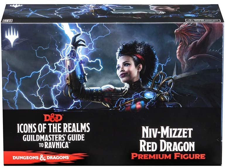D&D Icons of the Realms: Guildmaster's Guide to Ravnica Niv-Mizzet Red Dragon Premium Figure