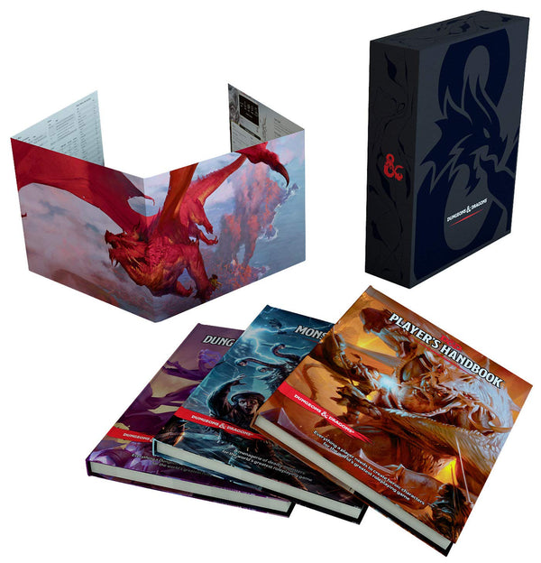 D&D 5e Core Rulebook Gift Set