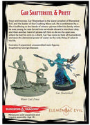 D&D Collector's Series Miniatures: Elemental Evil - Gar Shatterkeel & Water Priest