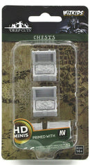 D&D Wizkids Deep Cuts Unpainted Miniatures: Chests