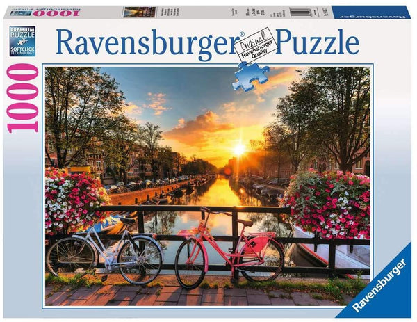 Puzzle: (1000 pc) Bicycles in Amsterdam