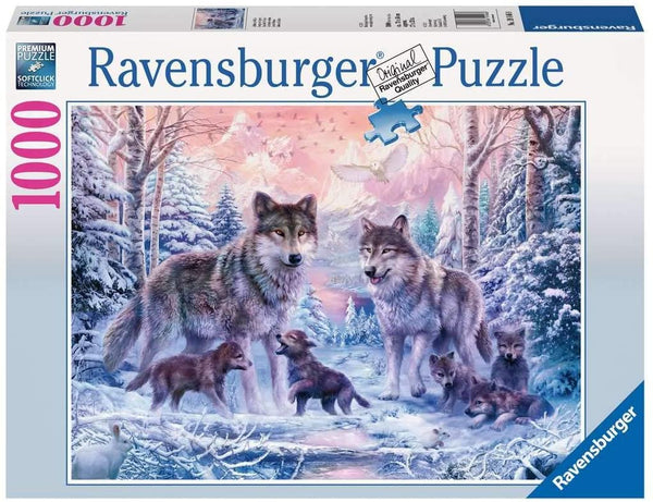Puzzle: (1000 pc) Arctic Wolves