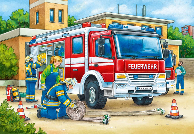 Puzzle: (2 x 12 pc) Police and Firefighters