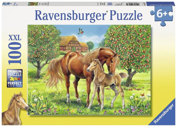 Puzzle: (100 pc) Horses in the Field