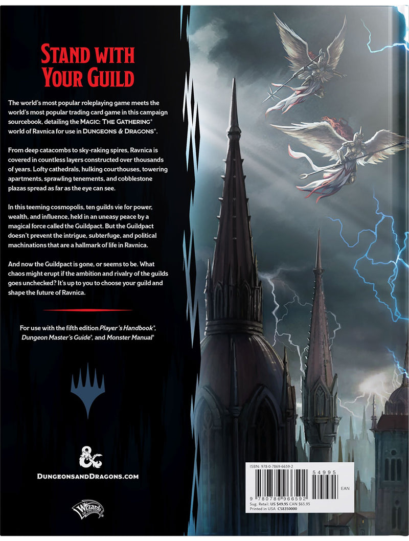 D&D 5e Guildmaster's Guide to Ravnica