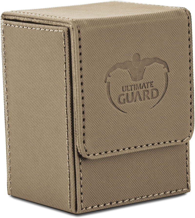 Deck Box: Ultimate Guard - Flip Deck Case Xenoskin Standard 80+ Sand