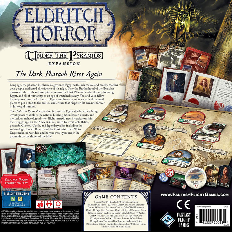 Eldritch Horror: Under the Pyramids