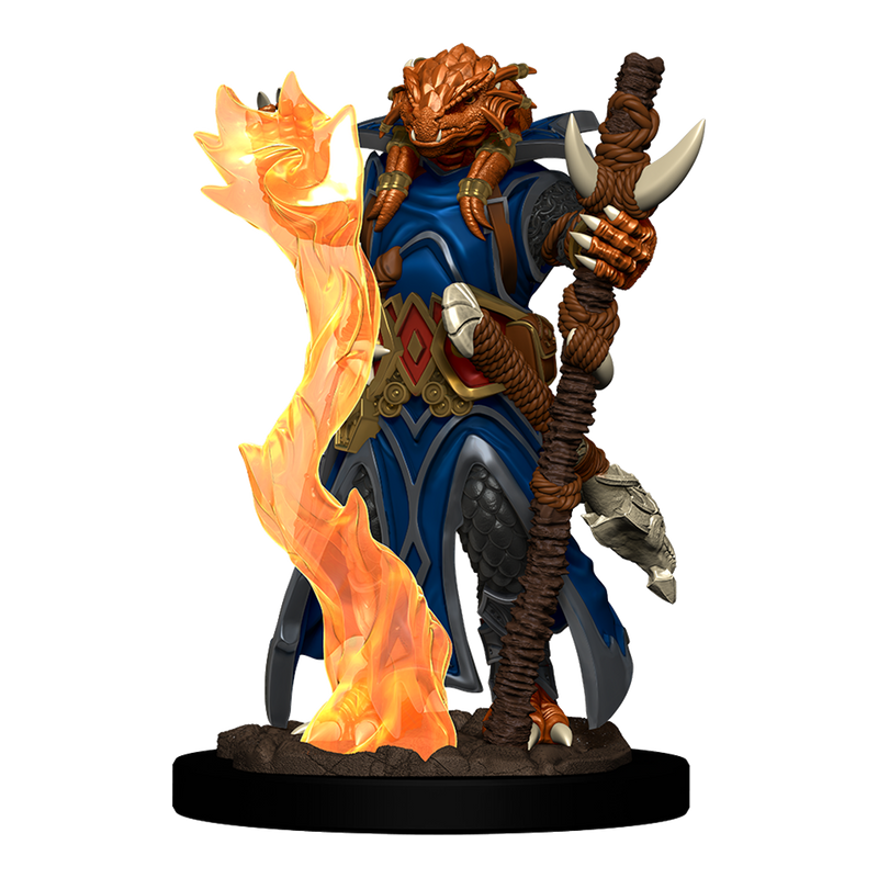 D&D Premium Figures: Female Dragonborn Sorcerer - 2020 Version