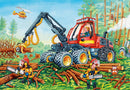 Puzzle: (2 x 24 pc) Diggers at Work