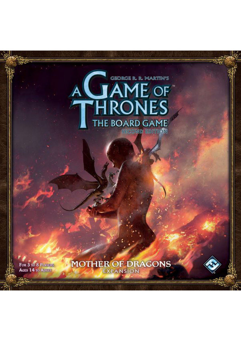 A Game of Thrones The Board Game 2nd Edition: Mother of Dragons