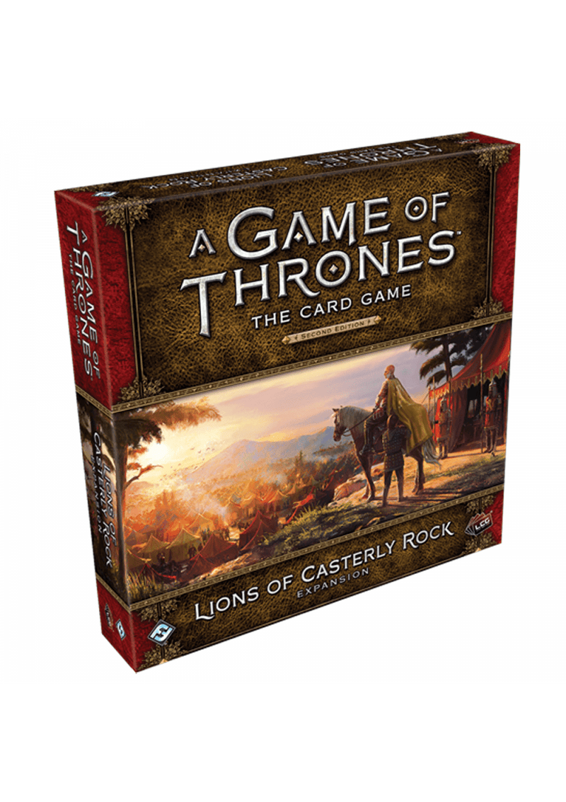 A Game of Thrones: The Card Game (Second Edition) - Lions of Casterly Rock