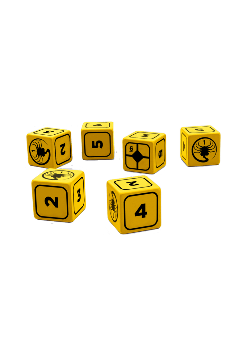 Alien RPG: Stress Dice Set