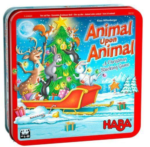 Haba: Animal upon Animal - A Christmas Stacking Game