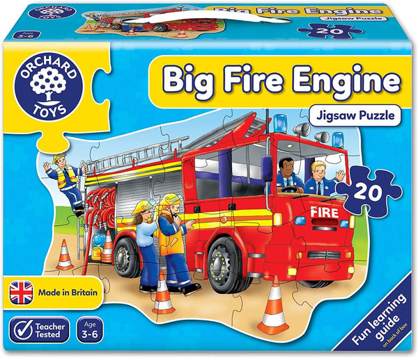 Orchard Toys: Big Fire Engine Jigsaw Puzzle