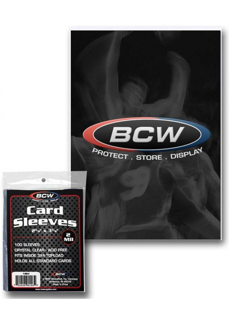 "Card Sleeves: BCW - 100 ""Standard"" Clear (66mm x 93mm)"